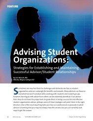 Nov 06 Advising Student Orgs