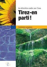 Directive Cadre - Administration de la gestion de l'eau / Luxembourg