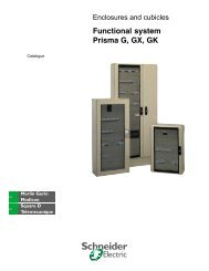Enclosure and cubicles Prisma G, GX, GK, P, PH (ENG) - Trinet