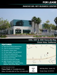 for lease rancho del rey business center