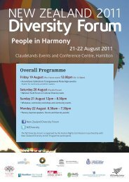Diversity Forum - Human Rights Commission