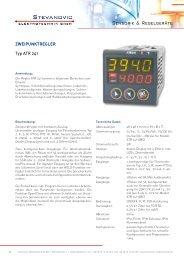 ZWEIPUNKTREGLER Typ ATR 241 - Stevanovic Elektrotechnik GmbH