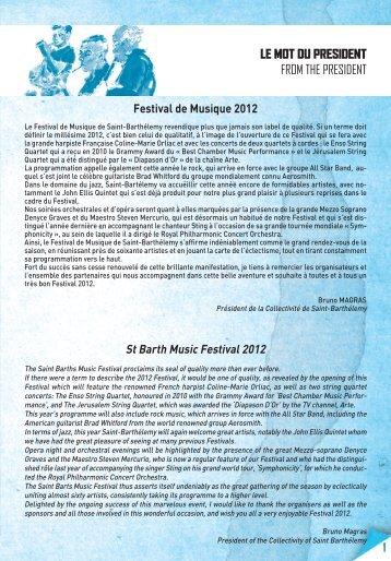 Jennifer FRAutSchi-RuSke - St Barts Music Festival