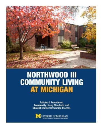 APARTMENT LIVING AT MICHIGAN - University Housing ...
