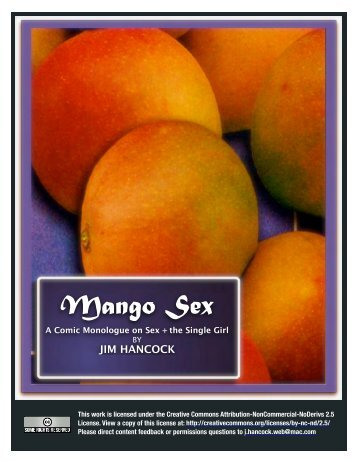 Mango Sex - Youth Specialties