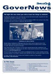 School Improvement Partners (SIPs) - Newcastle City Council