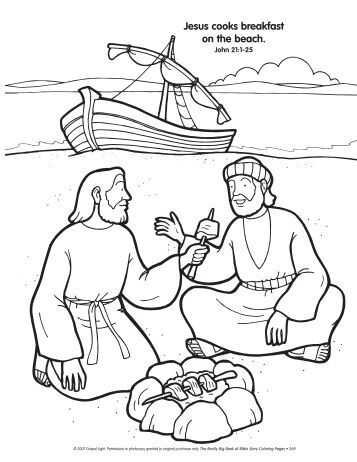 Magazines for Jesus brings lazarus back to life coloring page