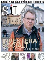 skandinavisk sjukvårdsinformation investera socialt