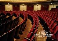 e oder u? hauptsache theater! - W-k.sbg.ac.at - Universität Salzburg