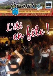 JDC N°8 de Juin 2010 - Ville de Caromb