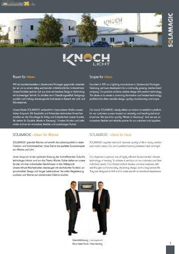 PDF-Download Katalog - Solamagic Infrarot-Heizstrahler