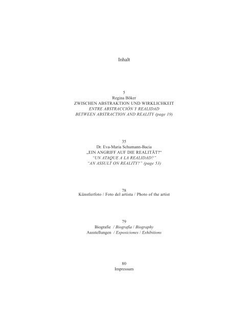 Zwischen Abstraktion und Wirklichkeit - Bräuniger, Stefan