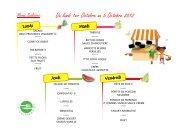 Du lundi 1er Octobre au 5 Octobre 2012 - Saint-Fuscien