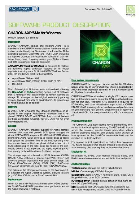 charon-axp/sma