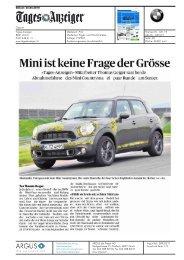 Mini ist keine Frage der Grösse - Mini.ch