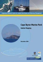 Cape Byron Marine Park. Habitat Mapping. - OzCoasts