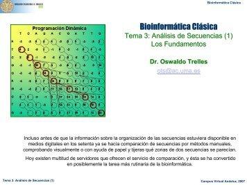 Bioinformática Clásica - BioScripts