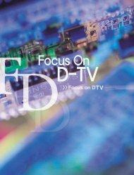 Focus On DTV - 시스템-반도체포럼