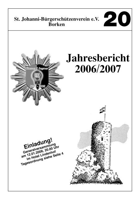 Jahresbericht 2007 - St. Johanni Bürgerschützenverein Borken