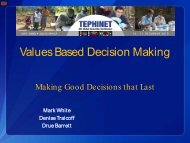 Values Based Decision Making - Library