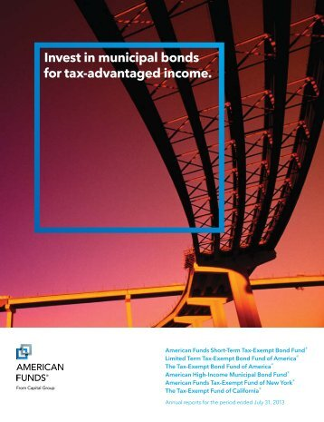 Annual Report - American Funds Tax-Exempt Fund of New York