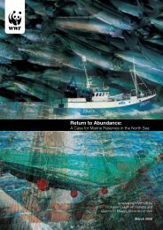 A case for marine reserves in the North Sea - WWF UK