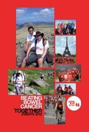 Events Leaflet 2012 - Beating Bowel Cancer