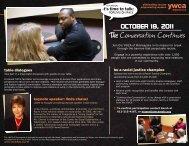 OCTOBER 18, 2011 - YWCA of Minneapolis