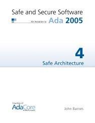 Ch.4 - Safe Architecture