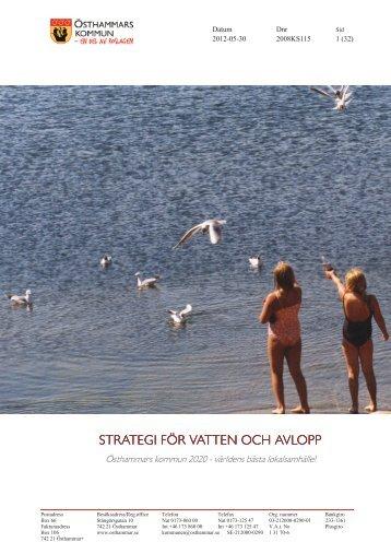 VAstrategi antagande 2012.pdf - Östhammars kommun