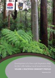 VOLUME 2: Vegetation Community Profiles - Coffs Harbour City ...