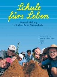 Umweltbildung - Bund Naturschutz in Bayern eV