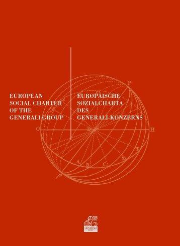 Europäische Sozialcharta der Generali Gruppe