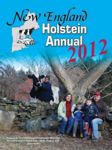 New England and Woodmansee Holsteins! - New England States ...