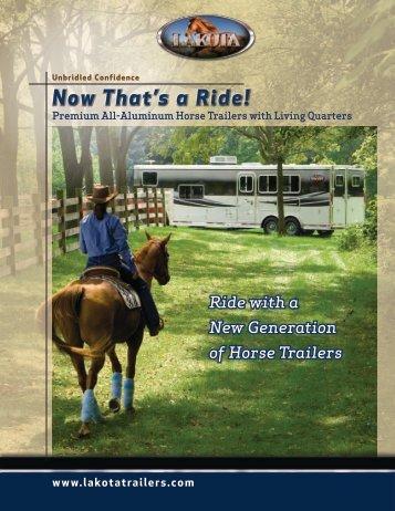 Now That's a Ride! - Lakota