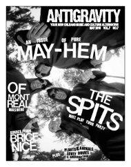 May 2010 (PDF) - Antigravity Magazine
