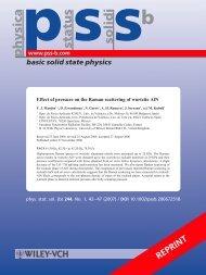 status solidi physica - ResearchGate