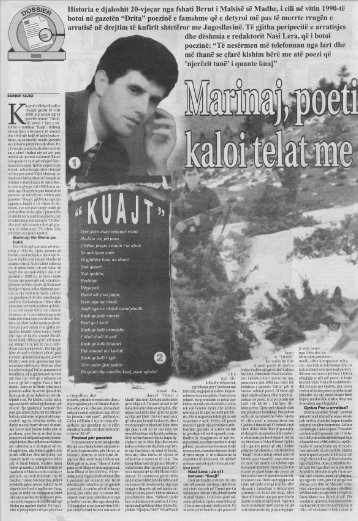Shqip - Marinaj kaloi telat me gjemba...