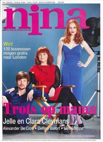 Nina 30/04/2010 Periodicity : Weekly Printrun - Malice In Wonderland