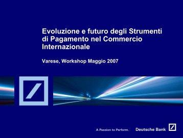 Evoluzione e futuro degli Strumenti di Pagamento ... - Confindustria