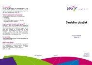 Sardellen plastiek - SJG Weert