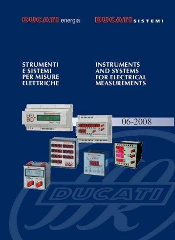 Catalogo Analizzatori Ducati Energia - givaenergy.it