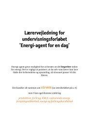 Energi-agent for en dag - Experimentarium