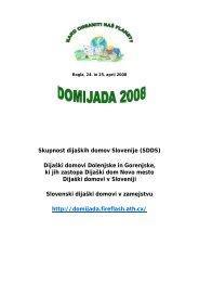 Domijada 2008 - Dijaški dom Drava Maribor