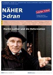 Download NÄHER dran, Nr. 25 / September - Leipzig Tourismus ...