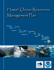 Ocean Resources Management Plan - Aha Moku