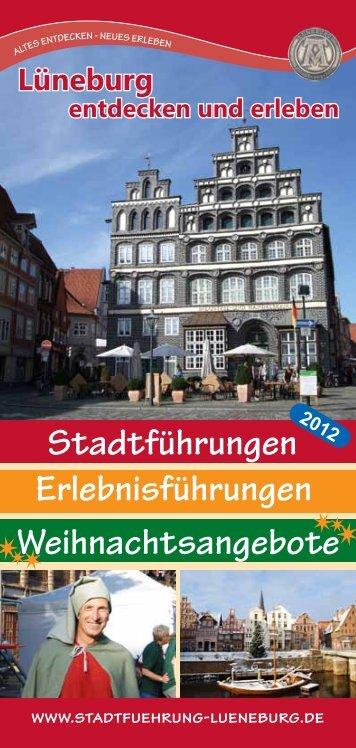 Telefon 04131 / 89 806 89 - Stadtführung Lüneburg