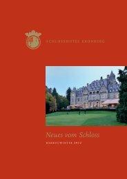 Neues vom Schloss Herbst/Winter 2012 - Schlosshotel Kronberg