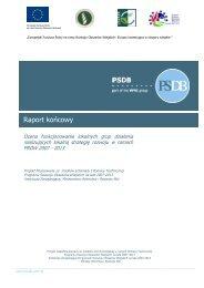 Ocena funkcjonowania lokalnych grup działania ... - KSOW