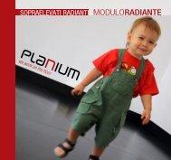 Sopraelevato Modulo Radiante:: MR01 Gres-Metalli etc. - Planium